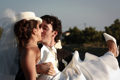 This is a photograph of the 'Aurélie & Thomas wedding' article!