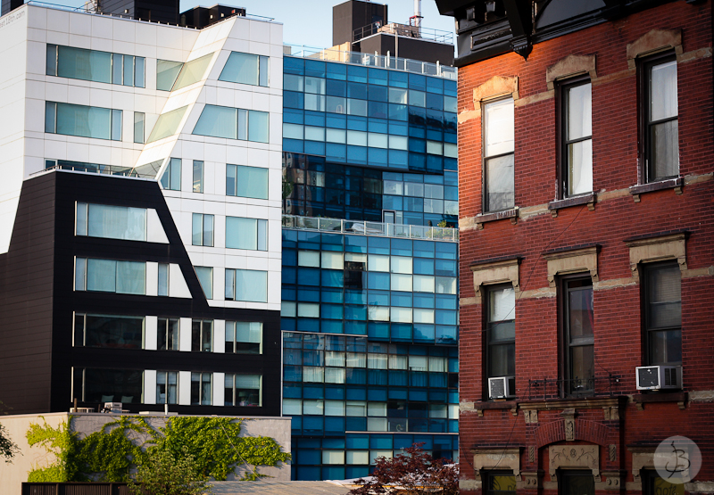 This is a photograph of the 'High Line views' article!