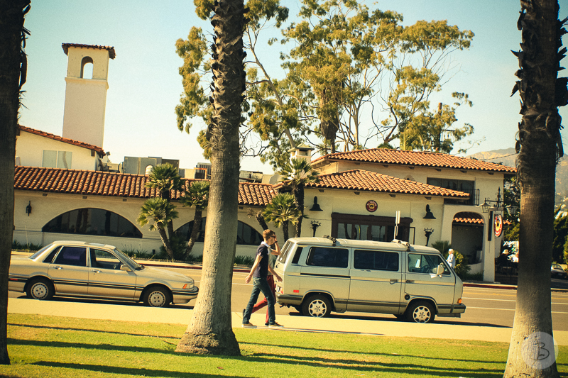 This is a photograph of the 'Loves from Santa Barbara' article!